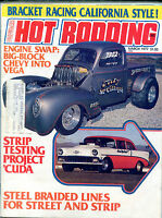 Hot Rodding Magazine March 1977 Strip Testing Project 'Cuda ML VGEX 122215jhe