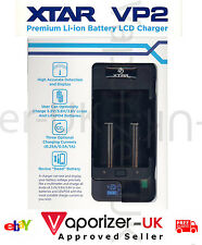 XTAR VP2 LCD Battery Charger, Latest 2017 Version, Genuine & Authentic, Freepost