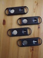 4 Pack 2 in 1 56R Guillotine  V Cut Cigar Cutter Premium Quality Stainless Steel