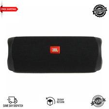 Brand New JBL Flip 5 Portable Waterproof Bluetooth Speaker Black Colour FREE P&P