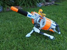 NERF N-Strike Rhino Fire Elite Gun Double Barrel With Tripod and Sights