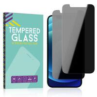 For iPhone 12 Mini 12 Pro Max Full Cover Privacy Anti-Spy Glass Screen Protector