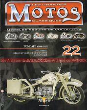 MOTOS CLASSIQUES 22 ZÜNDAPP KS 600 1937 Histoire ZUNDAPP Story