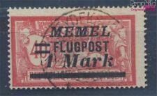 zona del Memel 99 usado 1922 Correo aéreo (8062904