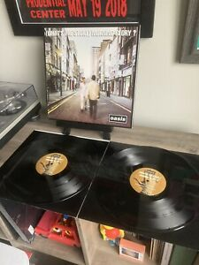 Oasis - Whats The Story Morning Glory 2 LP Vinyl Record Excellent Condition