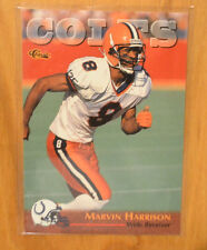 Classic Football Trading Cards Marvin Harrison For Sale Ebay