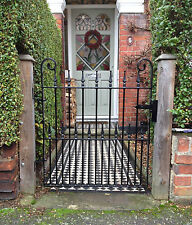 High Quality Wrought Iron Single Gate, Fabricated Gate, Ornate Gate, Garden Gate