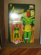 "marvel legends VISION RETRO 3 3/4"" unpunched the avengers"