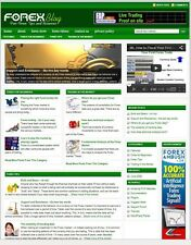 FOREX TRADING WEBSITE FOR SALE WITH TARGETED CONTENT FOR SEO