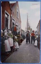 Great Vintage Postcard from Volendam, Netherlands