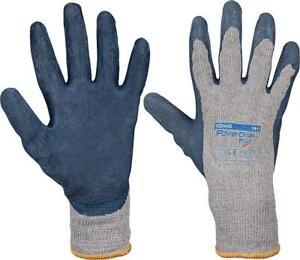 2x Mittelstrickhandschuh, Paar Power Grap Premium, Polyester/Baumwolle,Größe L