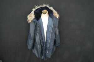 WWII USAAF Heavy Aircrew Jacket Attached Hood, Type N-3A Flying Bomber Jacket