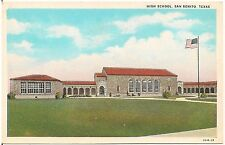 High School in San Benito TX Postcard