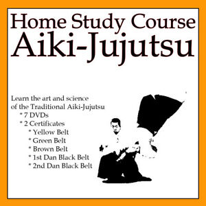 Home Study Course: Aikijujutsu (Includes 5 Certificates & 7 DVDs)