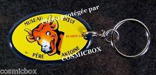 Porte-clés émaillé MUSEAU de BOEUF du PERE ANTOINE plaque émail enamel keychain