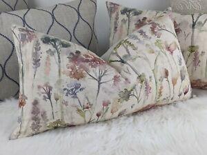 "Country, ILLNIAZ 11""x20"" RECTANGULAR Cushion Cover Voyage Hinton Poppy Floral"