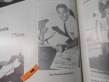 LEON PANETTA/WHITE HOUSE CHIEF OF STAFF/1959 UNIVERSITY OF SANTA CLARA YEARBOOK
