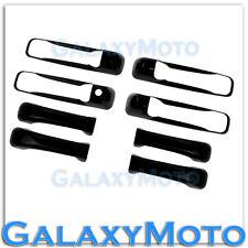 09-15 Dodge Ram 1500+2500+3500+HD Gloss Shiny Black 4 Door Handle Trim Cover