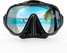 COPOZZ Scuba Mask, Snorkeling Dive Glasses, Free Diving Tempered Glass Goggles -