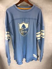 Vintage Mitchell & Ness Throwback Chargers Coaches Crewneck Sweatshirt 3XL