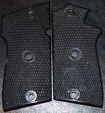 Star PD Pistol Grips checker pattern Jet Black