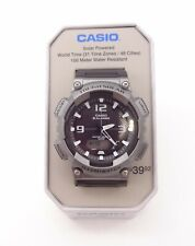 Men's Casio Tough Solar Powered World Time Illuminator Watch Aqs810w #6