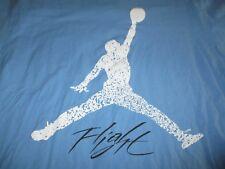 "Nike MICHAEL JORDAN ""Flight"" (XL) T-Shirt LIGHT BLUE"