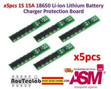 5pcs 1S 15A 3.7V Li-ion Lithium Lion 18650 Battery Protection Board BMS PCM