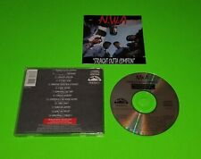 NWA - Straight outta Compton CD - Explicit - Early press in great shape - Rare