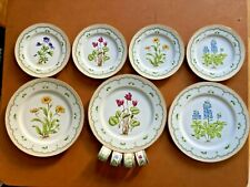 11-pieces - plates/napkin rings - From The Private Collection Of Georges Briard