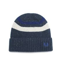 Fred Perry Navy Tipped Beanie Mens One Size