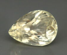 TOP HIDDENITE : 22,64 Ct Natürlicher Gelber Hiddenit ( Yellow Kunzite )