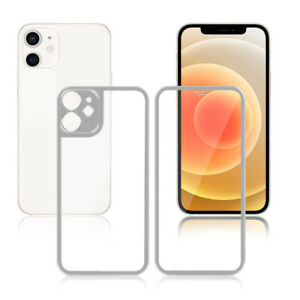 Front and Back Tempered Glass Screen Protector For iPhone X 11 12 Pro Max Mini