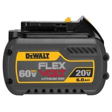 Genuine Dewalt DCB606 Flex-Volt 60v 6.0Ah XR Li-Ion 6ah Lithium Slide Battery