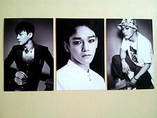 EXO Overdose Official Goods Post Card Postcard set -  Chen
