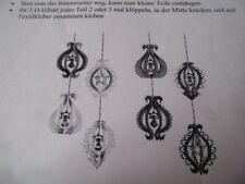 Klöppeln Klöppelbrief 6089 Laternchen Weihnachten Basteln Handarbeit Dekoration