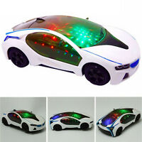 Children Musical Racing Car Toy 3D Special Lights Boys Girls Gift 20*9* Jh It IY