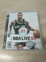 NBA Live 09 PlayStation 3 PS3 EA Sports