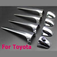 Trim Moldings Fit for Toyota RAV-4 RAV4 2013 2014 Car Chrome Door Handle Cover