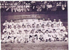 1944 ALL STAR  GAMES FORBES FIELD NL TEAM STAN MUSIAL 8X10 PHOTO