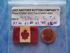 JABC button #3376.X - X-Large Folk Art Canadian Flag