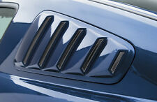 Ford Mustang 05-09 3D Carbon Window Louvers Unpainted