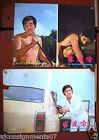 -Set of 2 -The Rendezvous of Warrior Paul Chun Kung Fu Hong Kong Lobby Card 70s