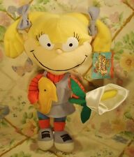 NANCO RUGRATS PLUSH SOFT DOLL ANGELICA WITH EASTER BABY CHICKEN & FLOWERS MWT