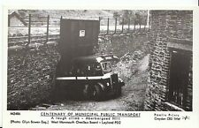 Wales Postcard-West Monmouth,A Tough Climb,Aberbargoed Hill,Leyland PD2 Bus 2414