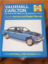 Vauxhall Carlton Oct 78 - Oct 86 (Up to D Reg) Haynes