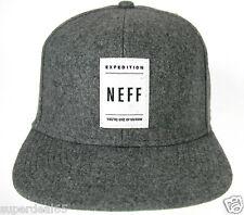 Neff Baseball NUF Dark Grey   Neff Headwear Neff Cap