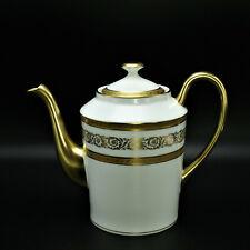 Faberge Anais Palace Coffee Pot Limoges Porcelain China 24k