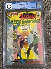BRAVE AND BOLD #59, DC Comics, CGC 8.5 grade 1st Batman Green Lantern Team Up