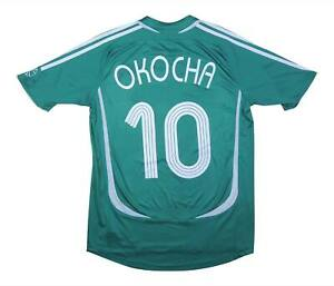 Nigeria 2006-07 Authentic Home Shirt Okockha #10 (Excellent) M Soccer Jersey